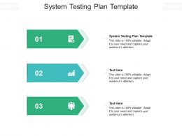 System Testing Plan Template Ppt Powerpoint Presentation Model File Formats Cpb