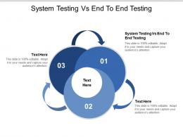 System Testing Vs End To End Testing Ppt Powerpoint Presentation Infographic Template Ideas Cpb