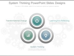 System Thinking Powerpoint Slides Designs