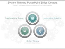 System Thinking Powerpoint Slides Designs