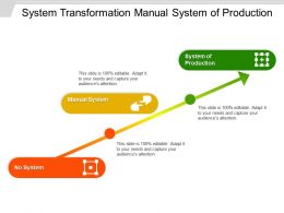 System Transformation Manual System Of Production