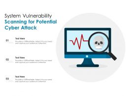 System Vulnerability Scanning For Potential Cyber Attack