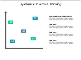 Systematic Inventive Thinking Ppt Powerpoint Presentation Icon Format Ideas Cpb