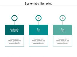 Systematic Sampling Ppt Powerpoint Presentation Sample Cpb