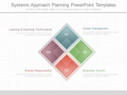 Systemic Approach Planning Powerpoint Templates
