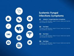 Systemic Fungal Infections Symptoms Ppt Powerpoint Presentation Summary Samples