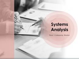 Systems Analysis Powerpoint Presentation Slides