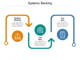 Systems Banking Ppt Powerpoint Presentation Layouts Slide Download Cpb