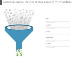 Systems Development Life Cycle Template Sample Of Ppt Presentation