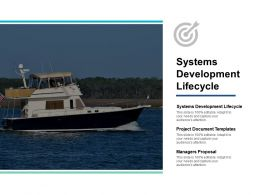 Systems Development Lifecycle Project Document Templates Managers Proposal Cpb