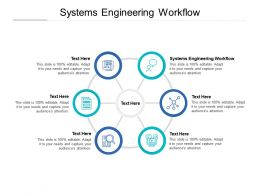Systems Engineering Workflow Ppt Powerpoint Presentation File Visual Cpb