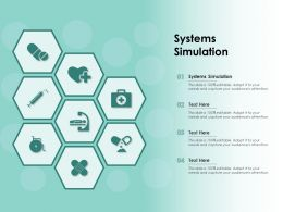 Systems Simulation Ppt Powerpoint Presentation Infographic Template Ideas