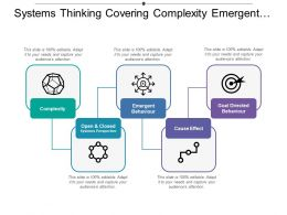 Systems Thinking Covering Complexity Emergent Behaviour And Effect