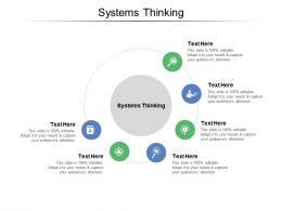 Systems Thinking Ppt Powerpoint Presentation Infographics Infographic Template Cpb