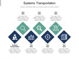 Systems Transportation Ppt Powerpoint Presentation File Picture Cpb