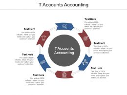 T Accounts Accounting Ppt Powerpoint Presentation Ideas Slide Cpb