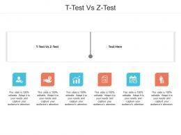 T Test Vs Z Test Ppt Powerpoint Presentation Portfolio Designs Cpb
