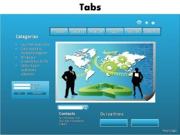 tab editable powerpoint slides templates