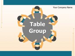 Table Group Rectangular Round Employees Shaped Oval