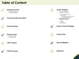 Table Of Content Highlight N276 Ppt Powerpoint Presentation Design Templates