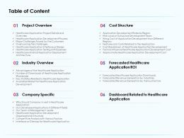 Table Of Content Hire Local Or Outsource Development Team Ppt Layout