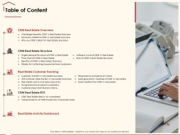 Table Of Content Lead Generation M290 Ppt Powerpoint Presentation Portfolio Design Templates