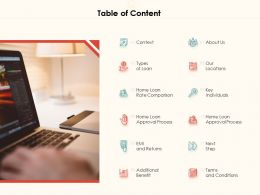 Table Of Content Next Step A1267 Ppt Powerpoint Presentation Portfolio Shapes