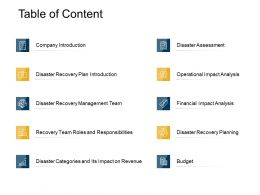 Table Of Content Plan Introduction Ppt Powerpoint Presentation Portfolio Tips