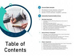 Table Of Contents N420 Powerpoint Presentation Download