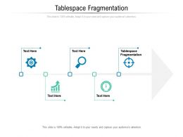 Tablespace Fragmentation Ppt Powerpoint Presentation Styles Inspiration Cpb