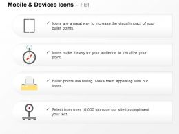 Tablet Compass Printer Scale Technology Ppt Icons Graphics