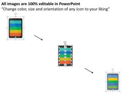 87017300 Style Technology 1 Mobile 5 Piece Powerpoint Presentation Diagram Infographic Slide