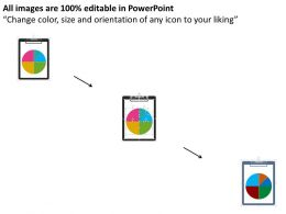 tablet_with_pie_chart_result_analysis_flat_powerpoint_design_Slide02