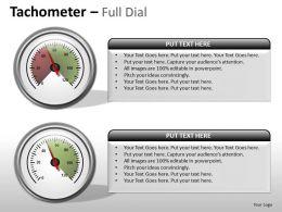 Tachometer Full Dial ppt 11
