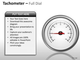 Tachometer Full Dial ppt 15