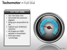Tachometer Full Dial ppt 16