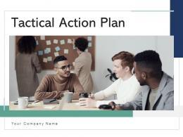 Tactical Action Plan Preparing Roadmap Business Strategy Success Metrics