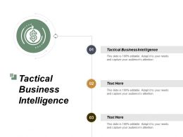 Tactical Business Intelligence Ppt Powerpoint Presentation File Skills Cpb