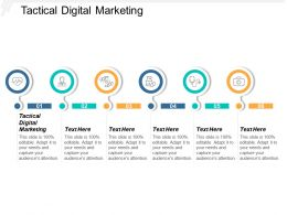 Tactical Digital Marketing Ppt Powerpoint Presentation Model Samples Cpb