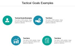 Tactical Goals Examples Ppt Powerpoint Presentation Inspiration Design Ideas Cpb