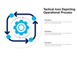 Tactical Icon Depicting Operational Process