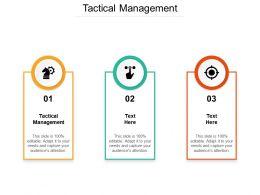Tactical Management Ppt Powerpoint Presentation Portfolio Example Topics Cpb