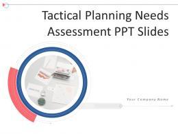 Tactical Planning Needs Assessment Ppt Slides Complete Deck