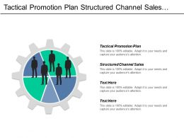 Tactical Promotion Plan Structured Channel Sales Acquisition Strategy Cpb
