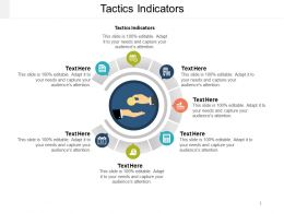 Tactics Indicators Ppt Powerpoint Presentation Ideas Diagrams Cpb