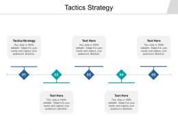 Tactics Strategy Ppt Powerpoint Presentation Layouts Objects Cpb