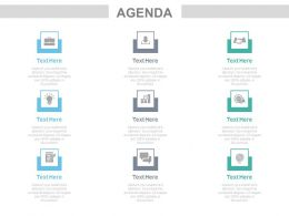Tags And Icons For Business Deal And Sales Growth Agenda Powerpoint Slides