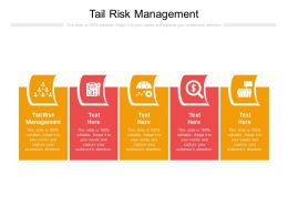 Tail Risk Management Ppt Powerpoint Presentation Icon Background Designs Cpb