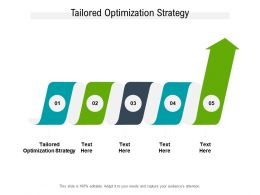 Tailored Optimization Strategy Ppt Powerpoint Presentation Inspiration Graphics Design Cpb