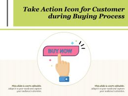 Take Action Icon For Customer During Buying Process